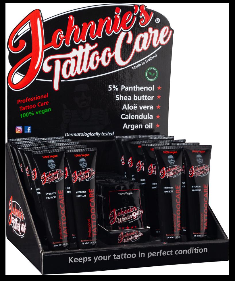Johnnies Tattoo Care De Beste Natuurlijke Tattoo Verzorging